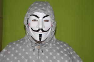 Az anonymus maszk népszerű