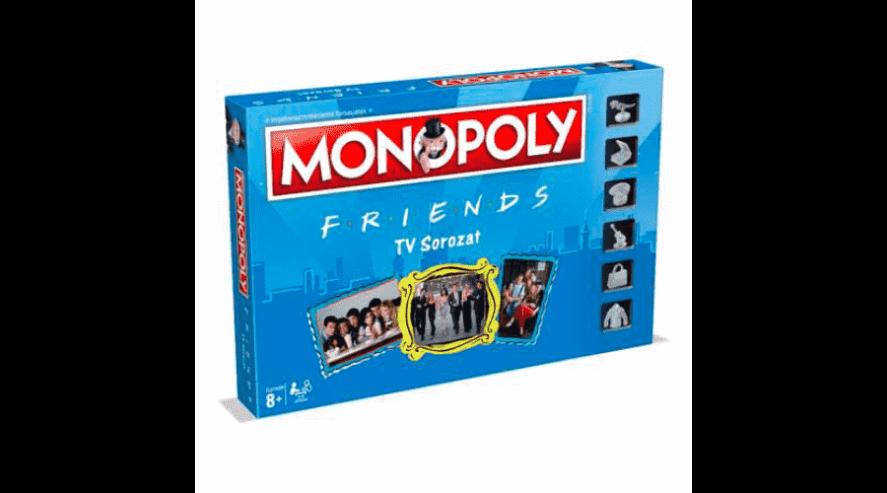 Hasbro Monopoly Friends Jóbarátok társasjáték